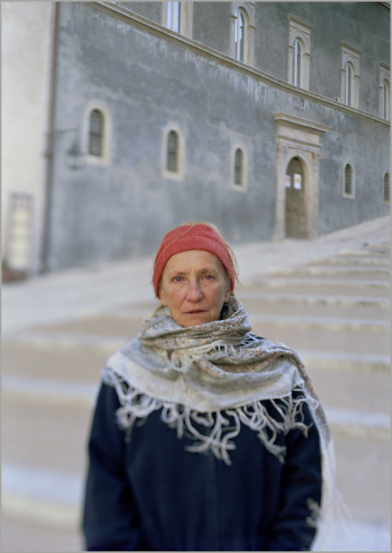 JoAnn Verburg, Antonietta in Light of the Duomo, 2011, 43.75 x 30.75 inches, edition of 5