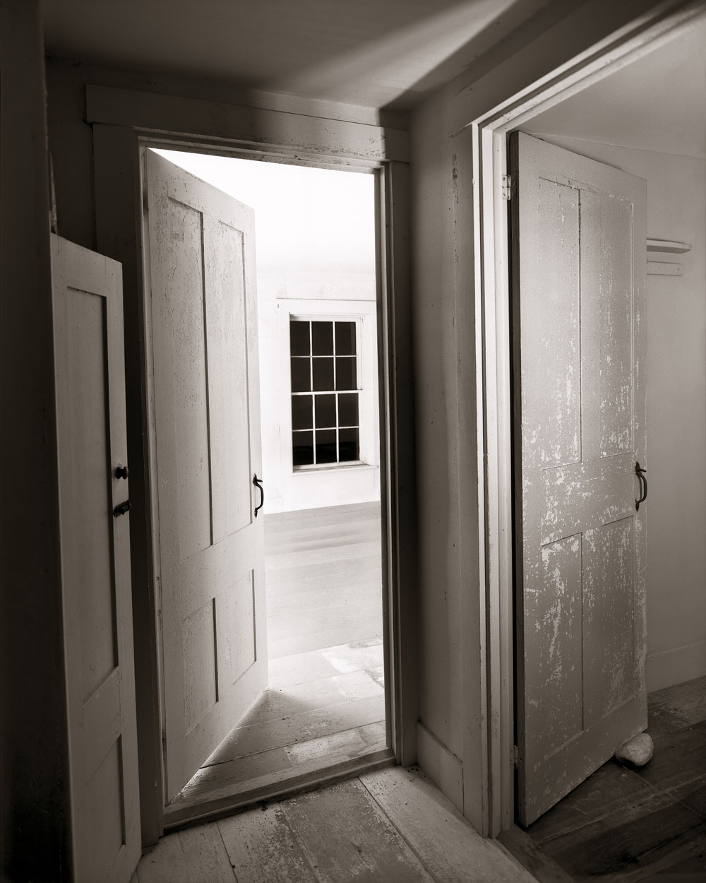 Linda Connor, Doors And Window…after Charles Sheeler, from The Olson House Portfolio, 2006, archival pigment print, price on request