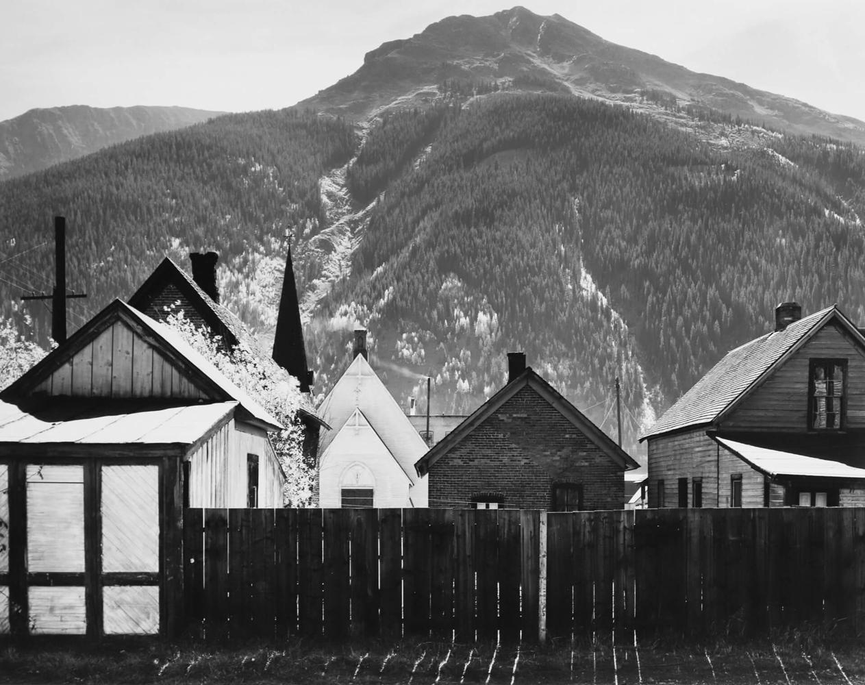 Ansel Adams - Silverton Colorado, 1951