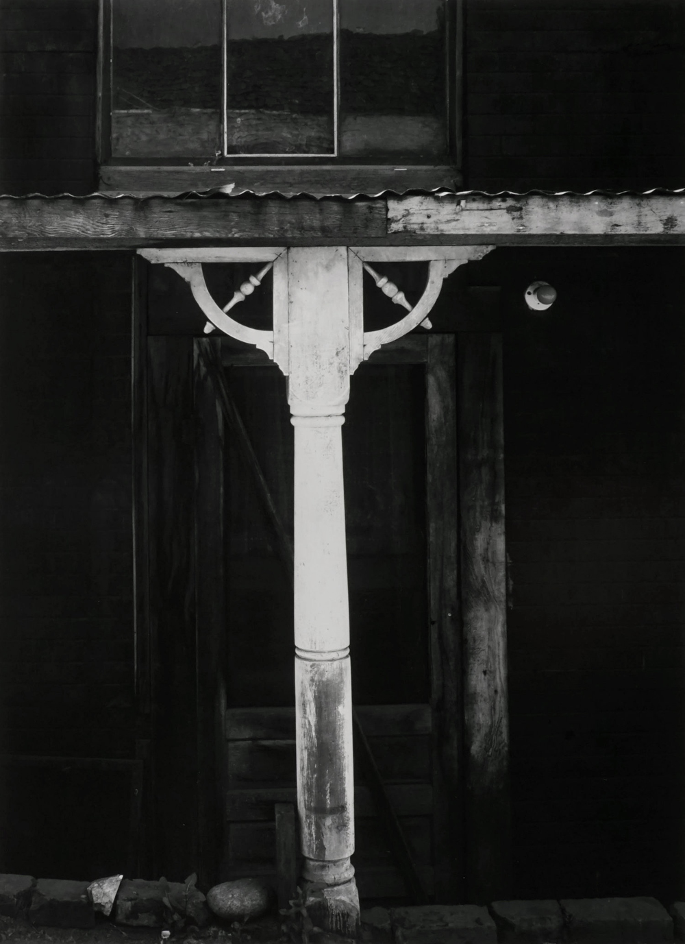 Ansel Adams - White Post and Spandrel, 1953