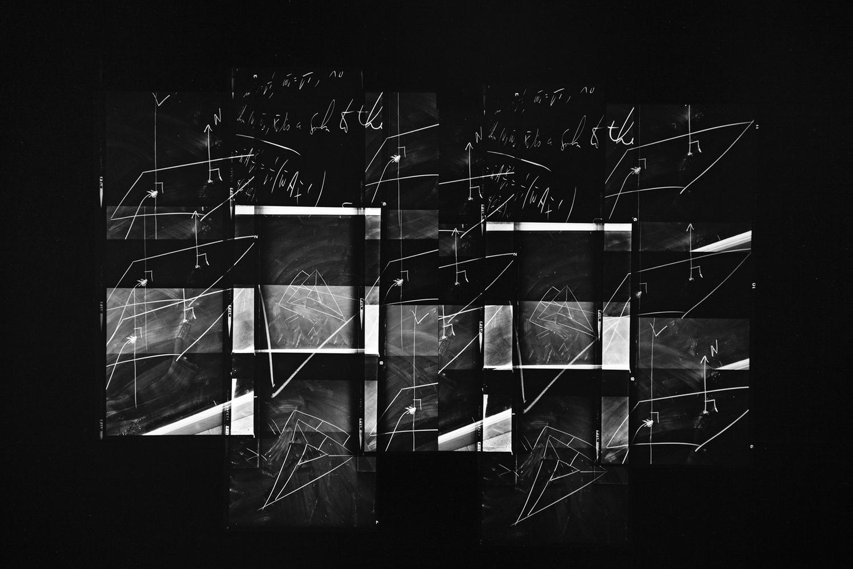 Paul Berger, Mathematics #61, 1976-77, gelatin silver print, 16 x 20 inches, $4000.