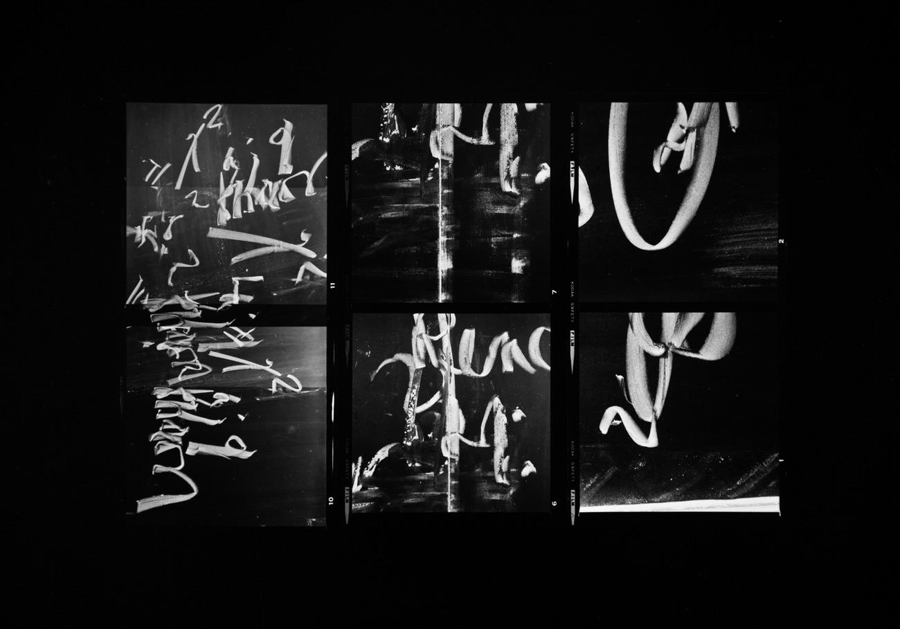 Paul Berger, Mathematics #11, 1976-77, gelatin silver print, 11 x 14 inches, $4000.
