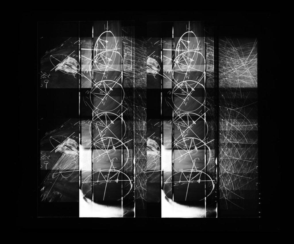 Paul Berger, Mathematics #57, 1976-77, gelatin silver print, 11 x 14 inches, $4000.