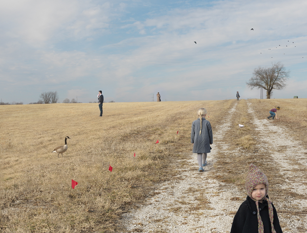 Julie Blackmon, Lot for Sale, 2015, 24×31″, 36×46″, 44×57″, edition of 15, 10, 5, price on request