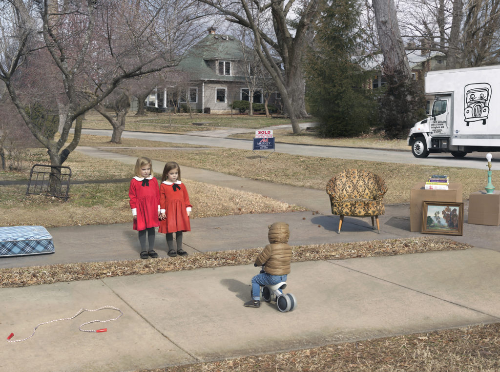 Julie Blackmon, New Neighbors, 2020