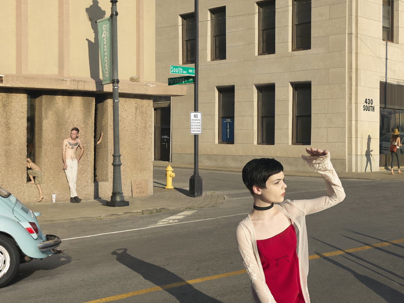 Julie Blackmon, South & Pershing, 2017, 22×30″, 32×44″, 40×56″ editions of 10, 7, 5, price on request