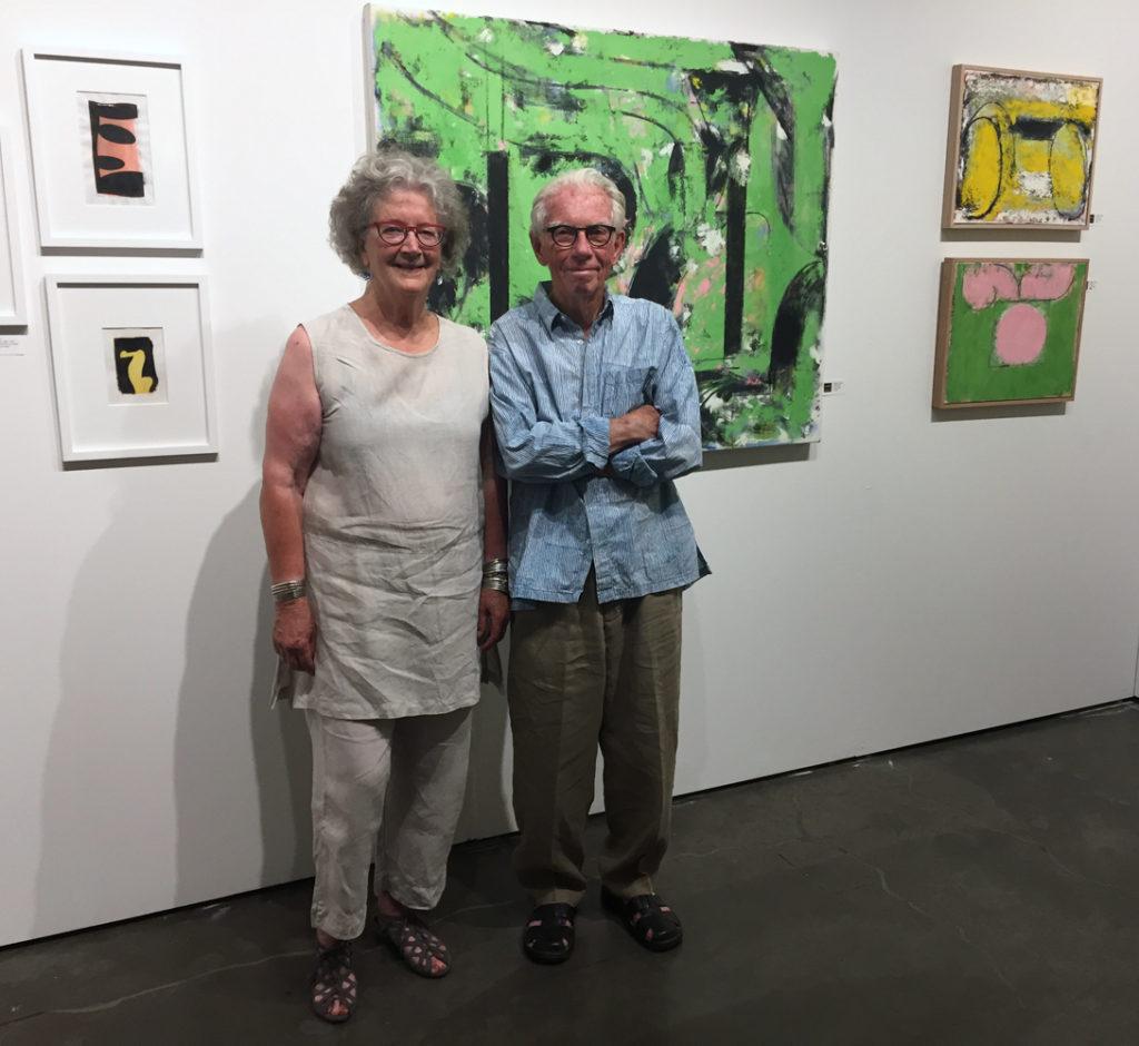 Fay Jones and Robert C. Jones, Seattle Art Fair, 2017