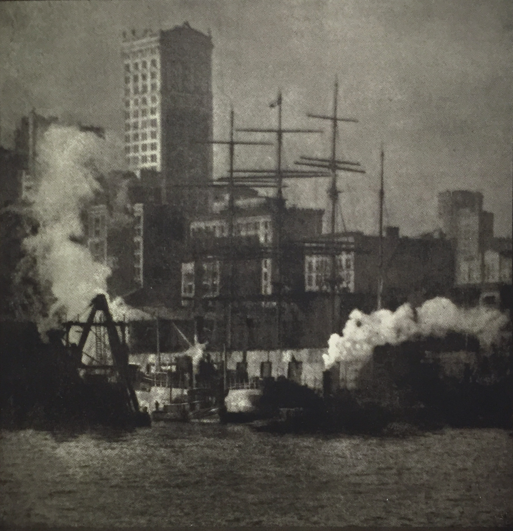 Alvin Langdon Coburn, New York, January, 1908, 21:37, halftone, 16.9 x 16.5 cm, price on request