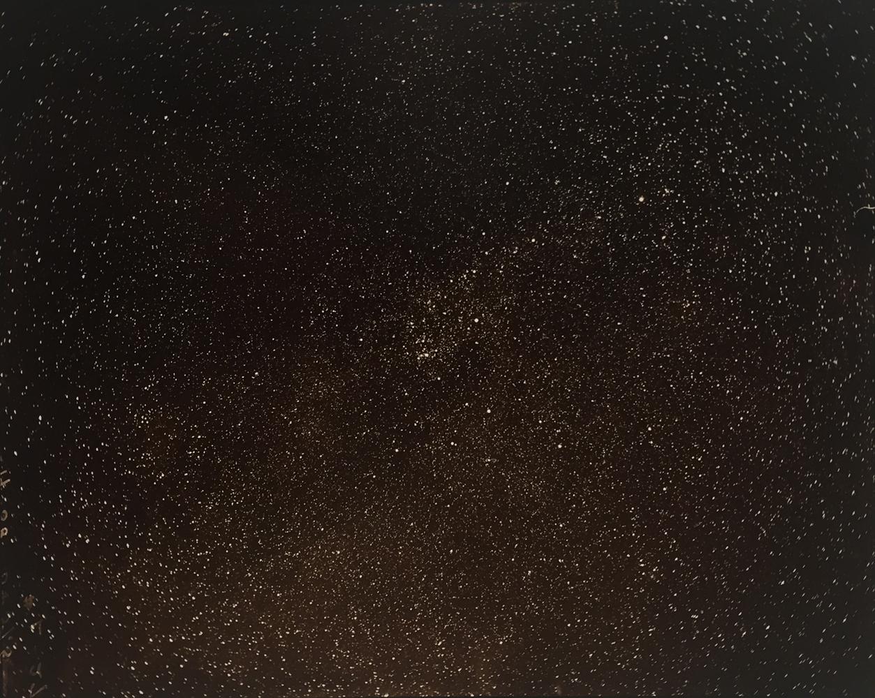 Linda Connor, Lick Observatory Plate Archive, Mt. Hamilton, UC Santa Cruz, 1892/1996, gold toned print, 8 x 10 inches