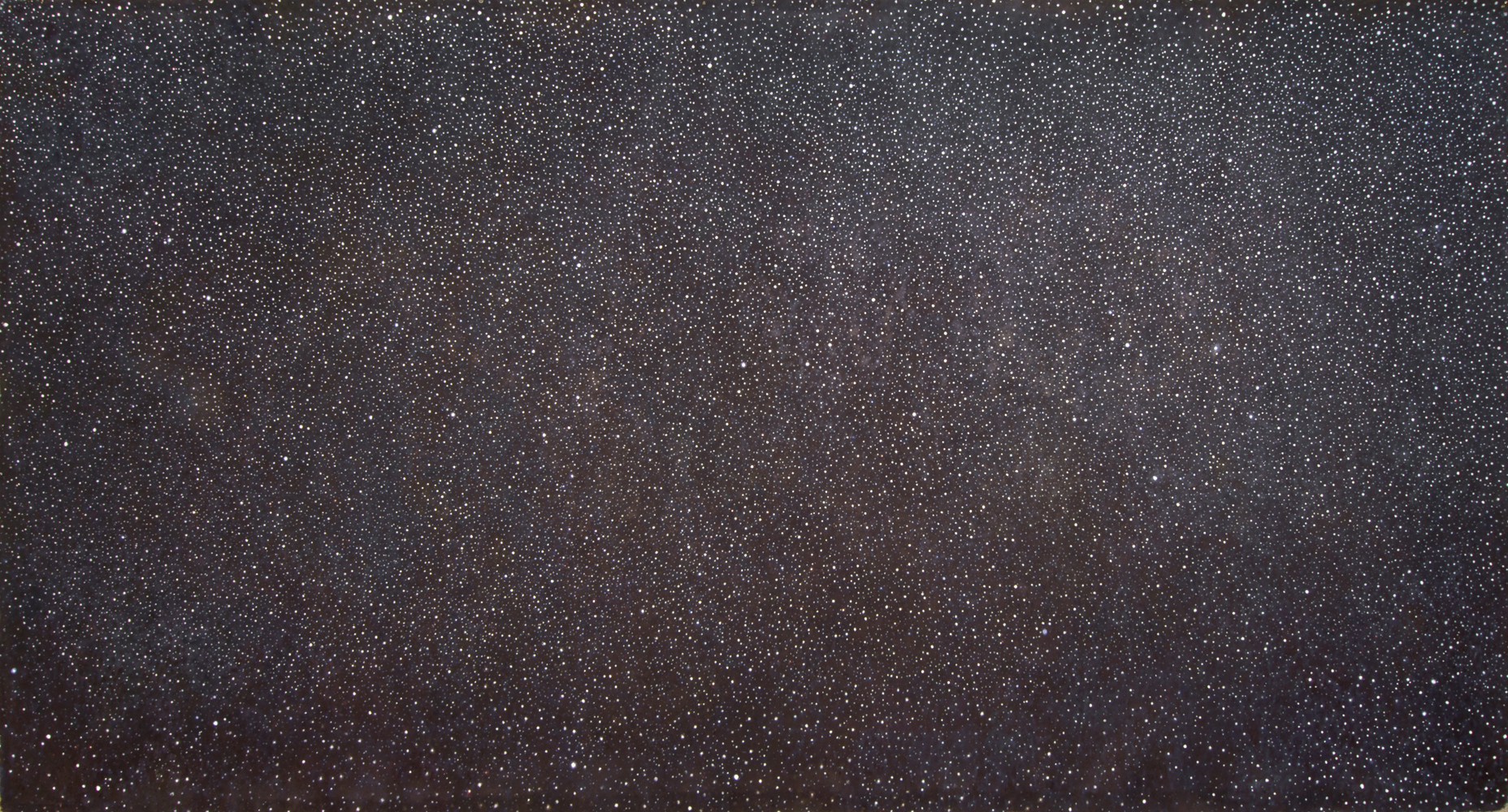 Linda Davidson, Star Painting, 2019, oil on canvas, 63 x 120, SOLD