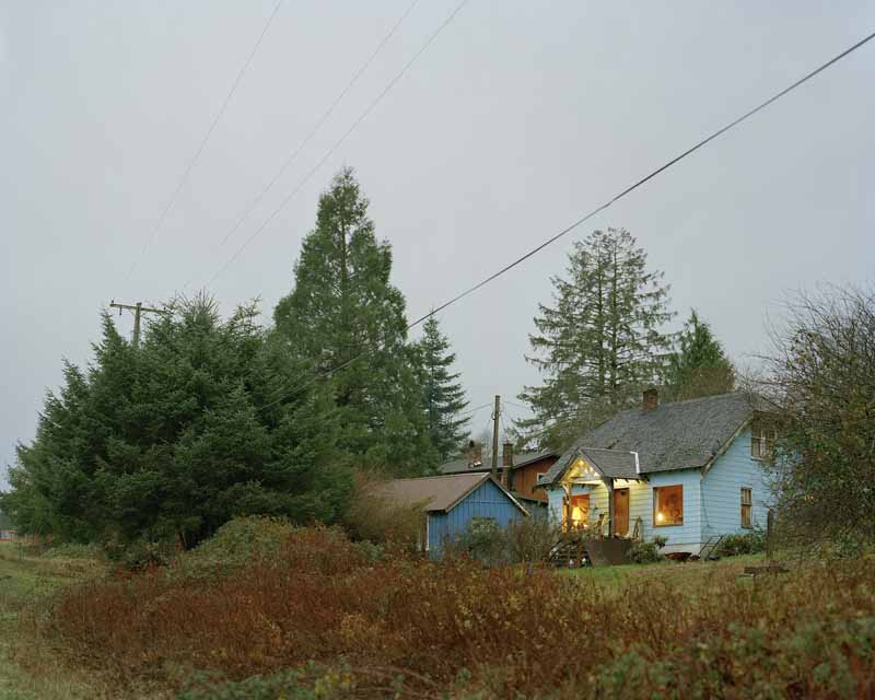 Eirik Johnson, The road to Forks, Washington, 2006