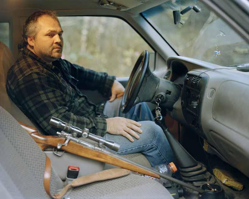 Eirik Johnson, Carl near Sappho, Washington, 2006