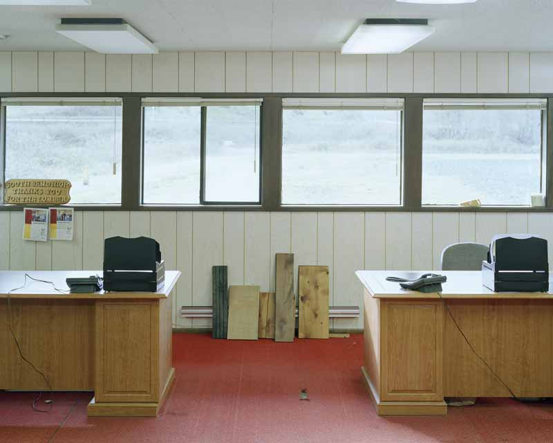 Eirik Johnson, Offices, Seaport Lumber, South Bend, Washington, 2007