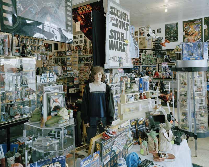Eirik Johnson, Colin, Sucher & Sons Star Wars store, Aberdeen, Washington, 2007