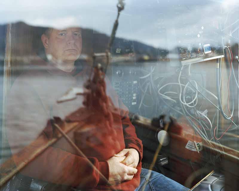 Eirik Johnson, Brad Balderson on his long liner the Fish Hog, Neah Bay, Washington, 2008