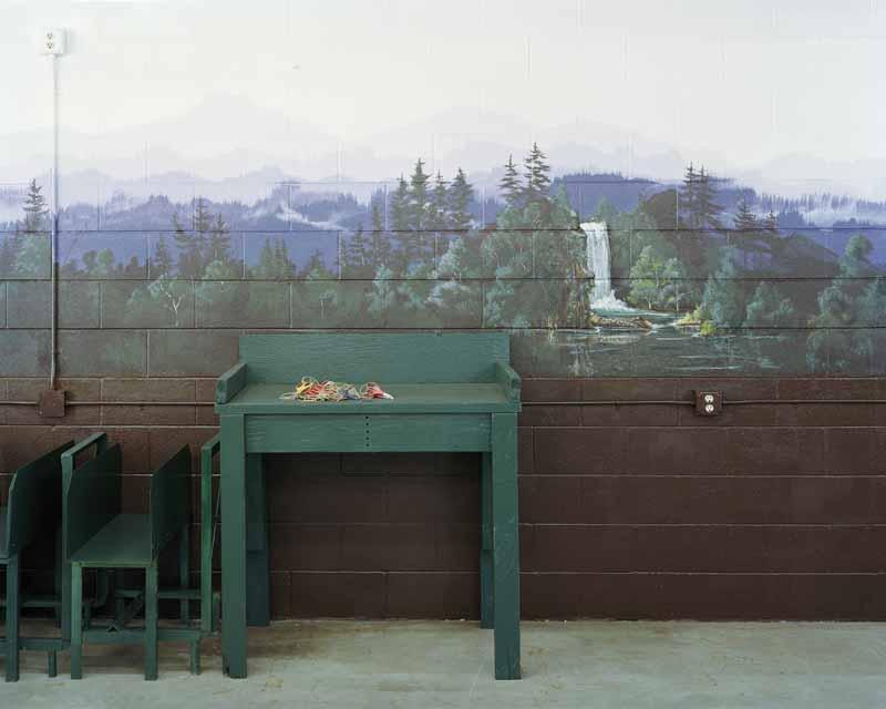 Eirik Johnson, Seedling packing facility, Webster Forest Nursery, Tumwater, Washington, 2007