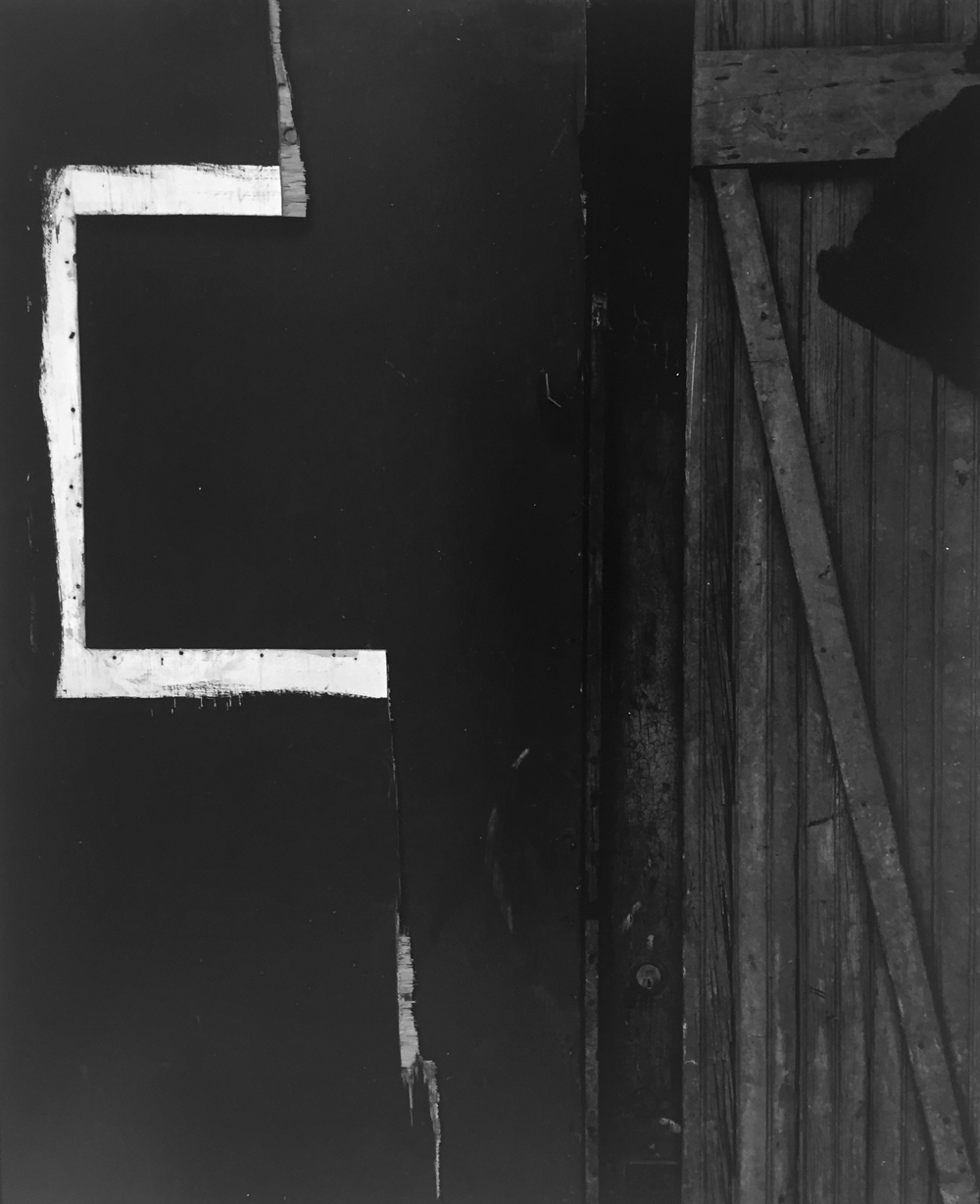 Aaron Siskind, Chicago 10, 1959, signed gelatin silver print, 11 x 14 inches