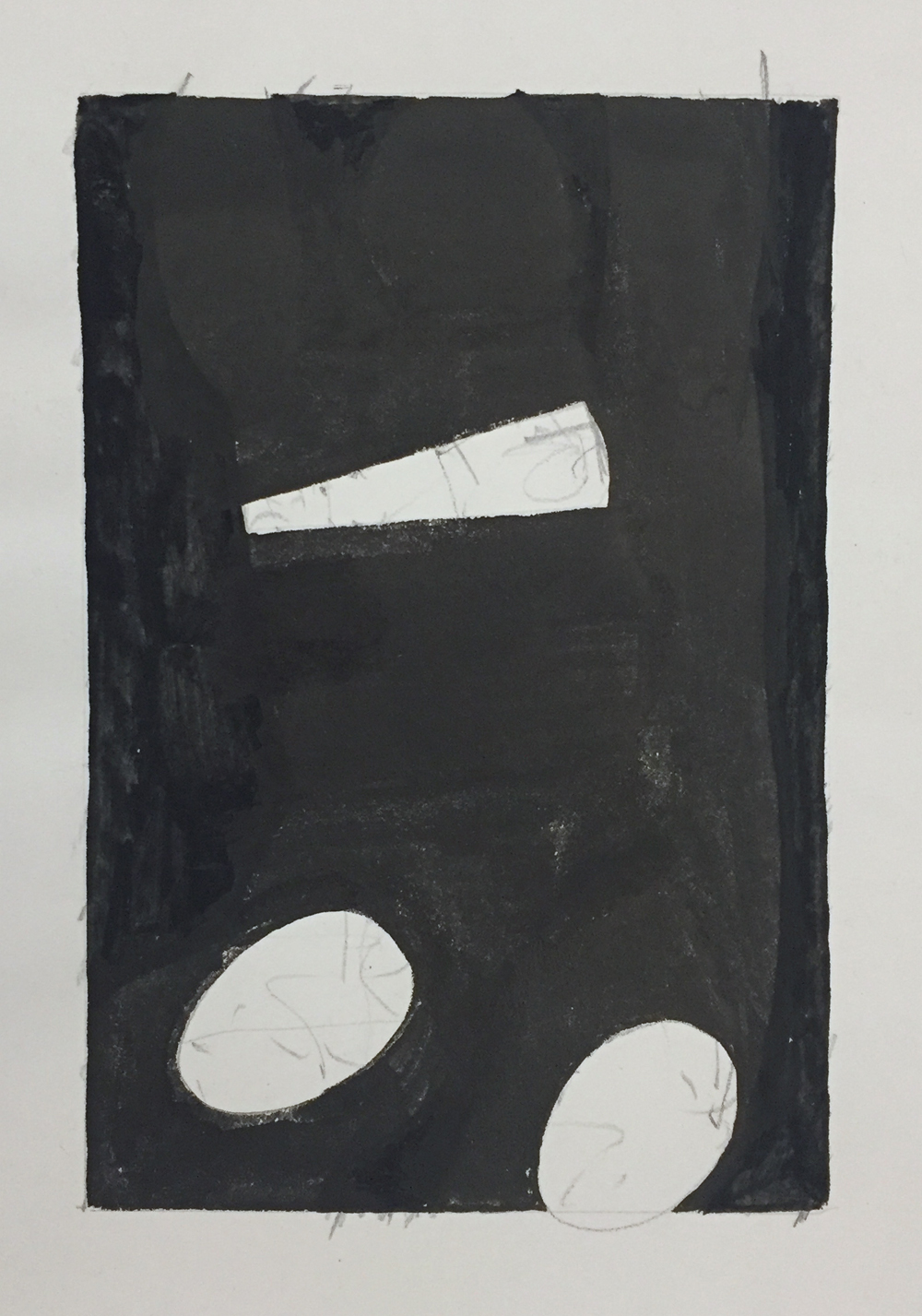 Robert C. Jones, Untitled, GTO3, 25 Jan, 1998, watercolor and graphite on paper, 6 x 4 inches, $1000.