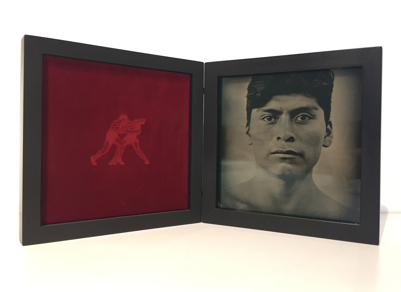 Luis Gonzalez Palma, Destinos, 2000, ambrotype, 9.25 x 9.25 x 2 inches, edition 7/10, price on request