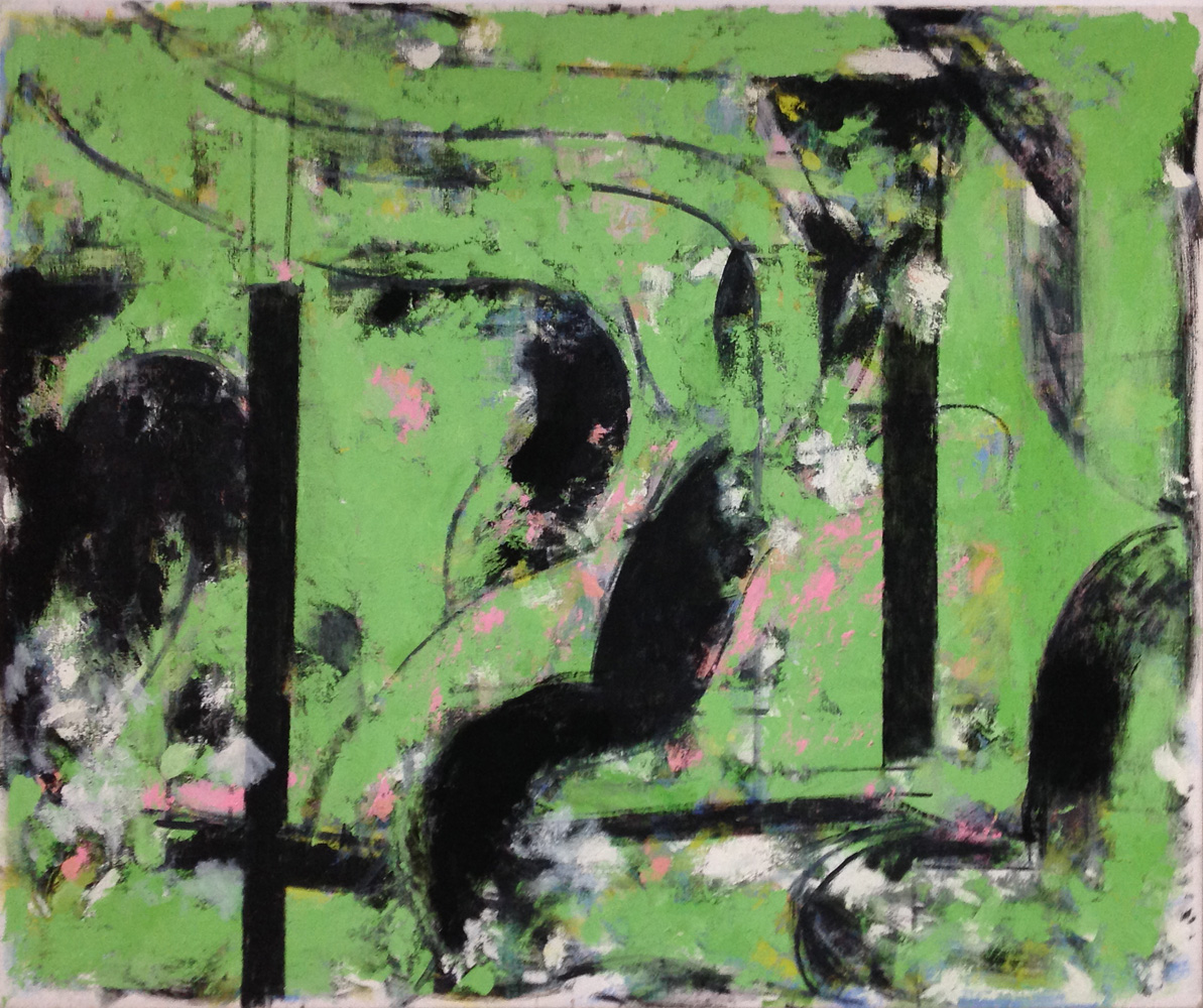Robert C. Jones, Untitled, 2009, oil on canvas, 40 x 48 inches, $10,000.