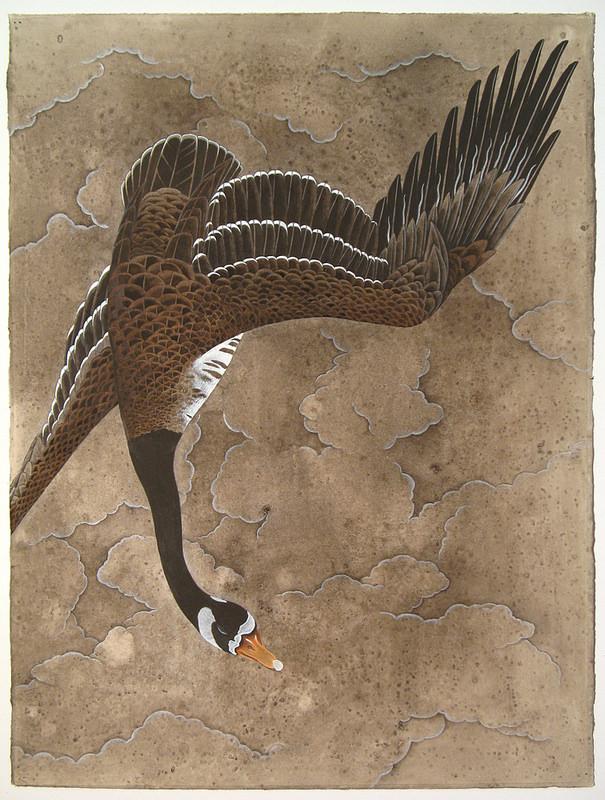 Justin Gibbens, Descendant, 2013, watercolor, graphite, gouache, oolong & magic on paper, 30 x 22 inches