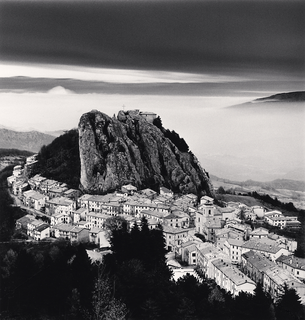 Michael Kenna, Approaching Clouds, Pizzoferato, Abruzzo, Italy. 2016