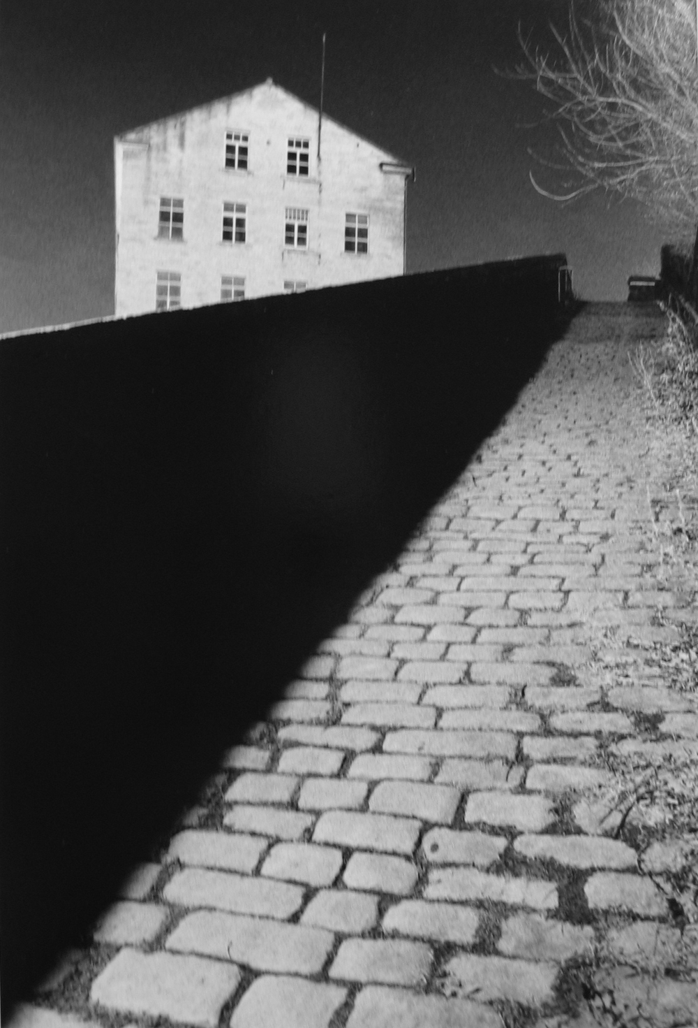 Michael Kenna, Bill Brandt's Snicket, England,1986, gelatin silver print, 9 x 6 inches, sold out edition of 45, price on request