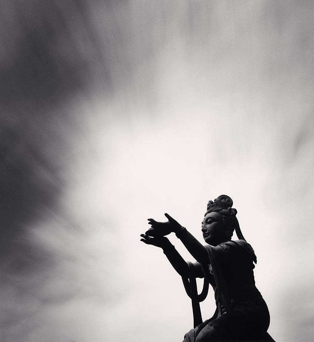 Michael Kenna, Buddha Offering, Lantau Island, Hong Kong, 2006