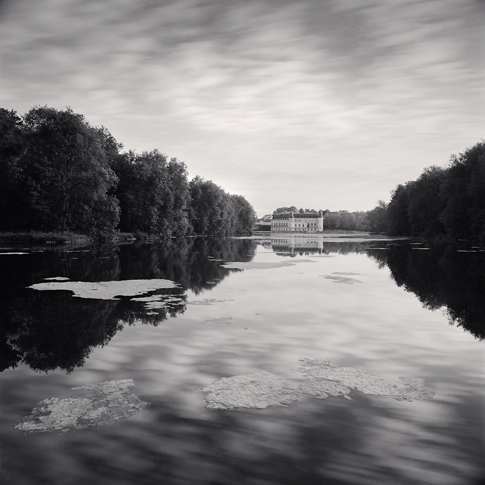 Michael Kenna, Château, Study 8, Rambouillet, Yvelines, France, 2018