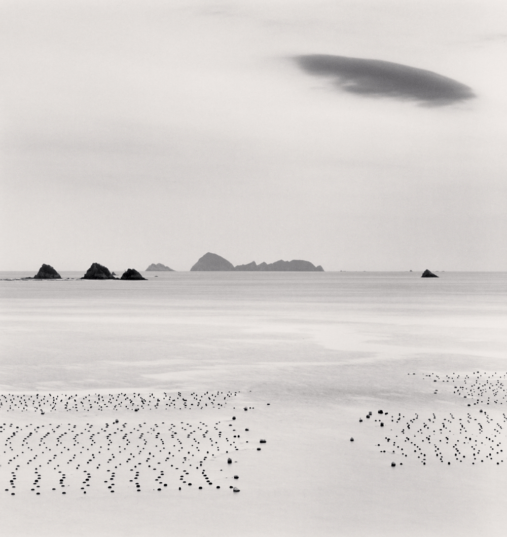 Michael Kenna, Cloud over Uchiumi Sea, Ainan, Shikoku, Japan, 2012