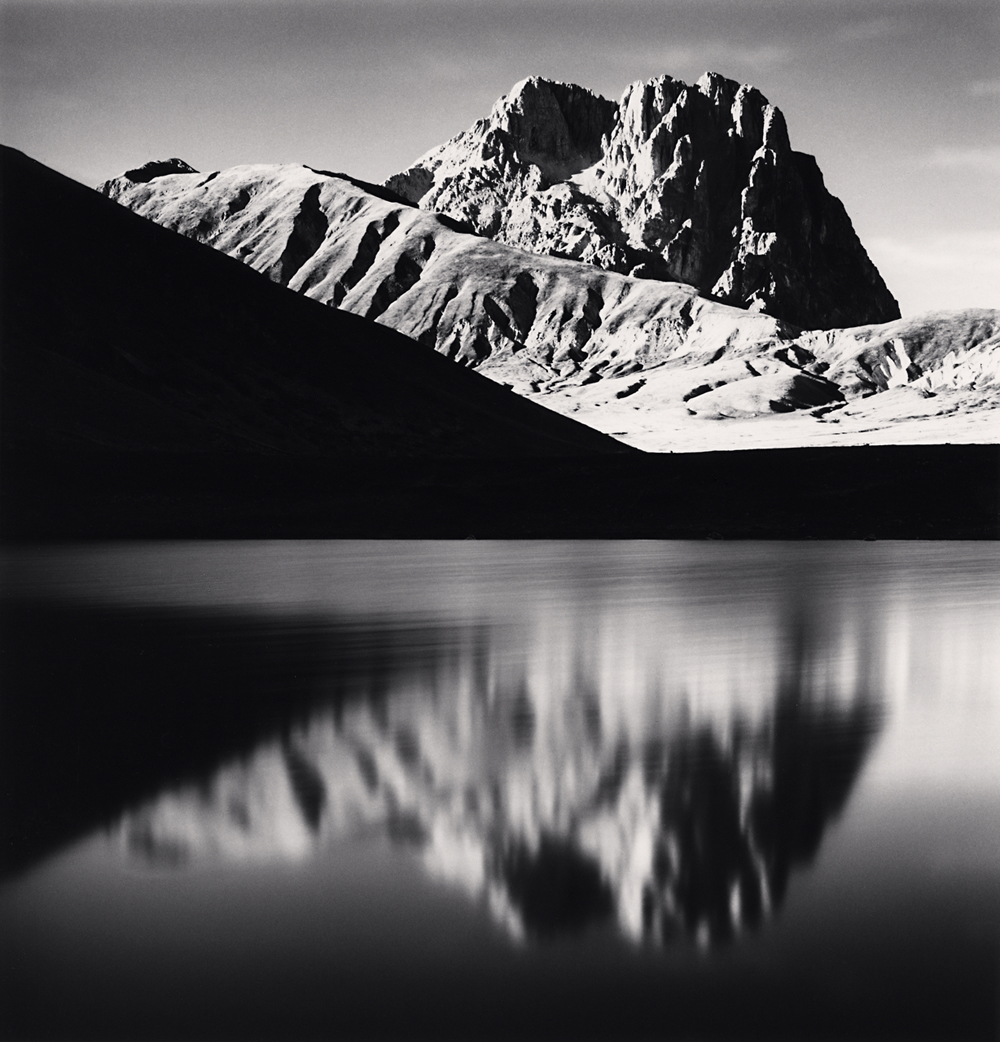 Michael Kenna, Corno Grande Reflection, Campo Imperatore, Abruzzo, Italy. 2015