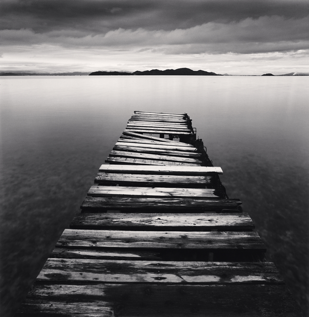 Michael Kenna, Crumbling Boardwalk, Shiga, Honshu, Japan, 2003