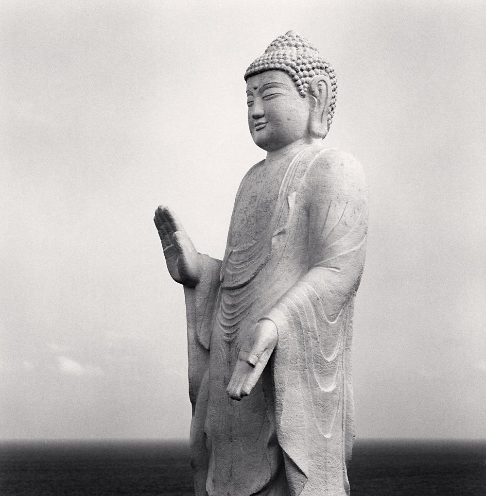 Michael Kenna, DMZ Buddha, Cheorwon, Gangwon-do, South Korea, 2007
