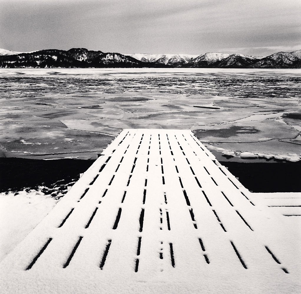 Michael Kenna, Freezing Morning, Kussharo Lake, Hokkaido, Japan, 2014