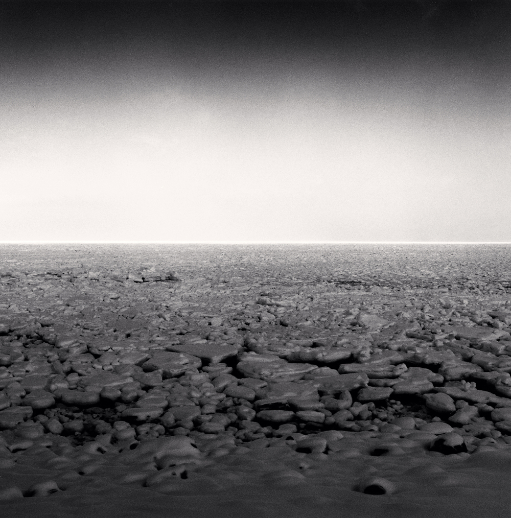 Michael Kenna, Frozen Sea of Okhotsk, Study 4, Utoro, Hokkaido, Japan, 2005