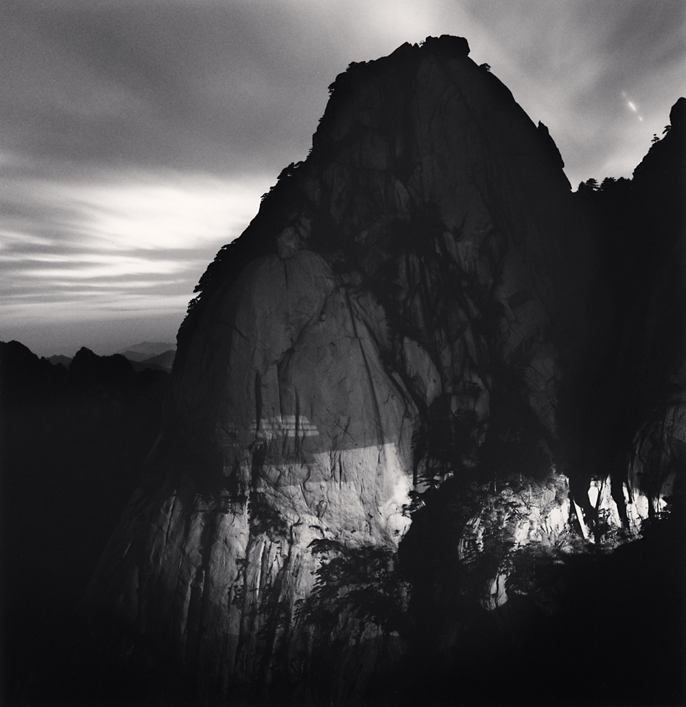 Michael Kenna, Huangshan Mountains, Study 49, Anhui, China, 2010