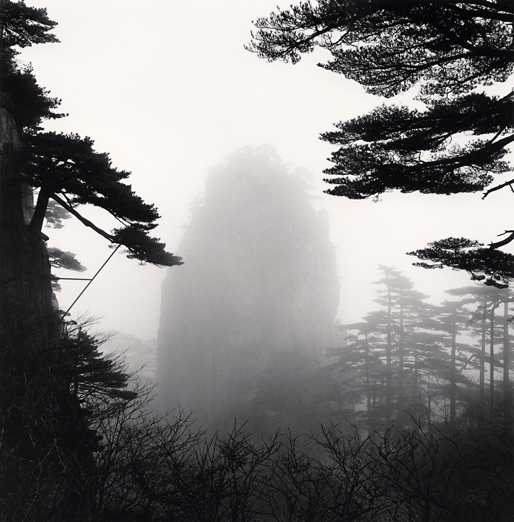Michael Kenna, Huangshan Mountains, Study 50, Anhui, China, 2017