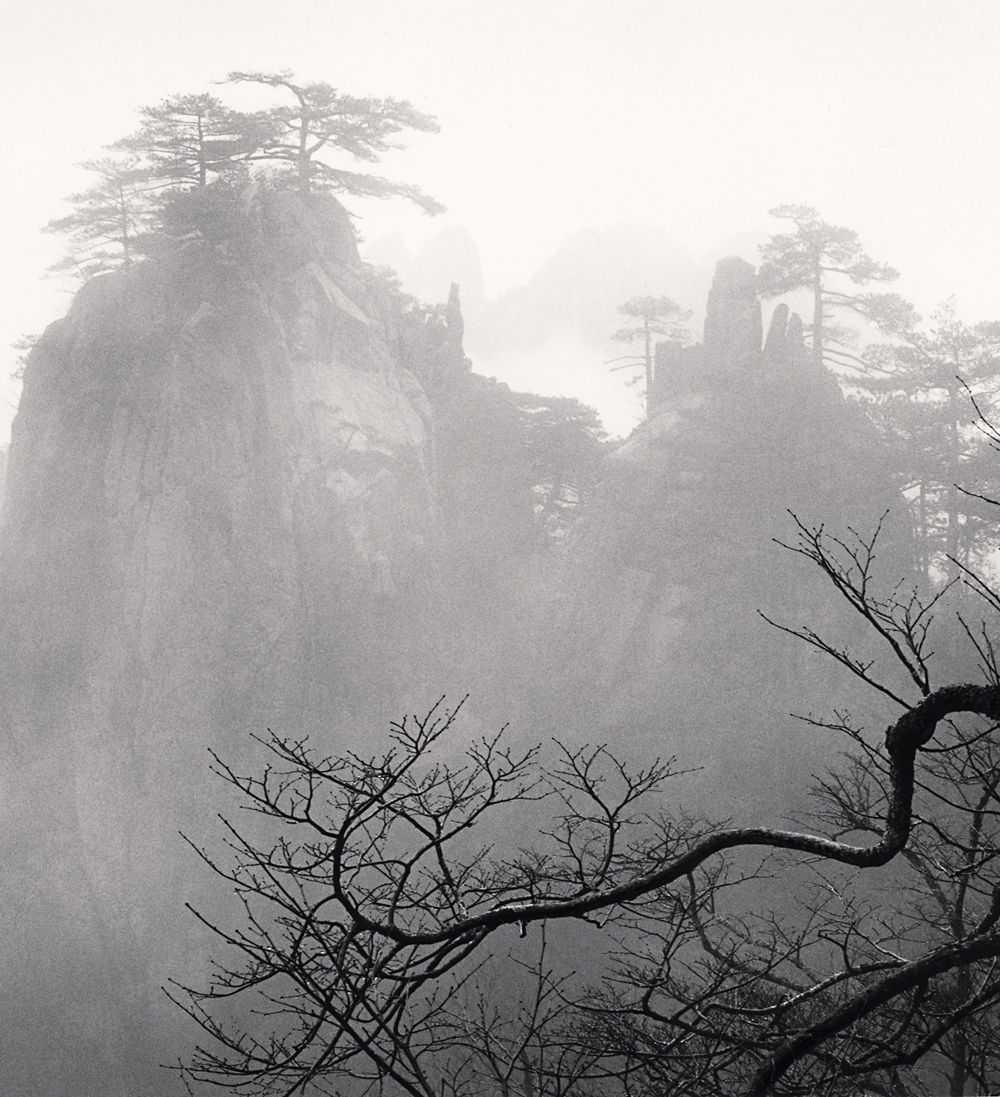 Michael Kenna, Huangshan Mountains, Study 52, Anhui, China. 2017