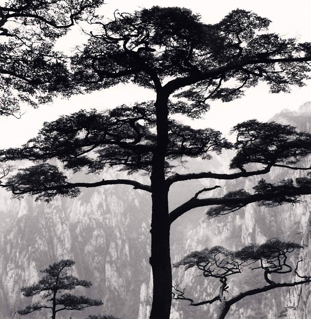Michael Kenna, Huangshan Mountains, Study 53, Anhui, China. 2017