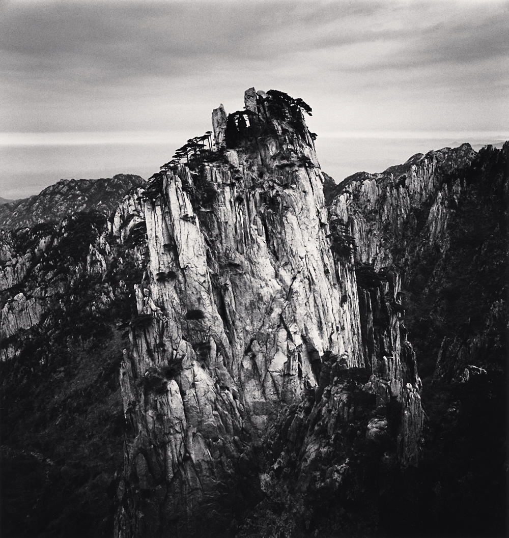 Michael Kenna, Huangshan Mountains, Study 54, Anhui, China. 2017