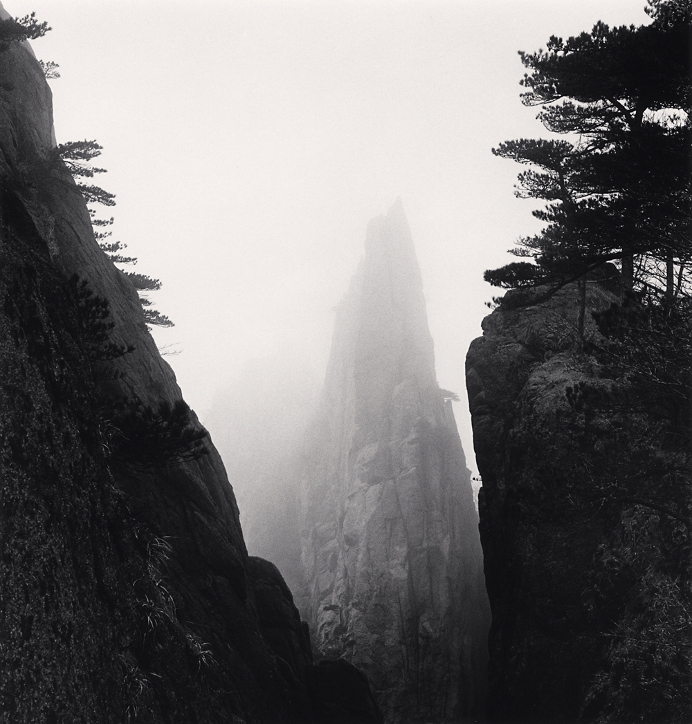 Michael Kenna, Huangshan Mountains, Study 55, Anhui, China. 2017