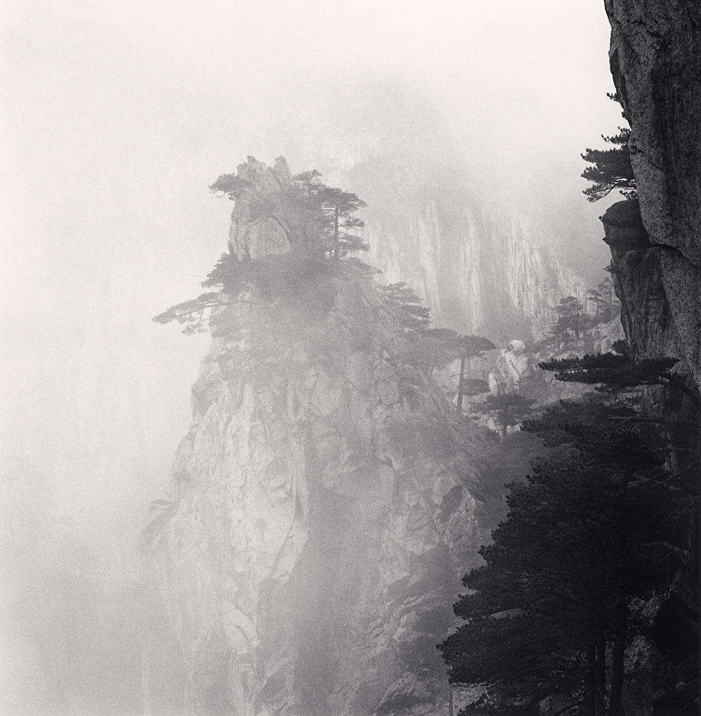 Michael Kenna, Huangshan Mountains, Study 56, Anhui, China. 2017