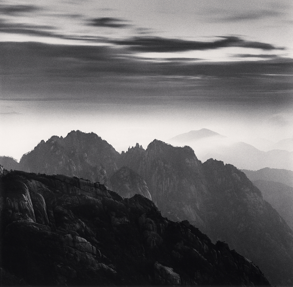 Michael Kenna, Huangshan Mountains, Study 57, Anhui, China. 2017