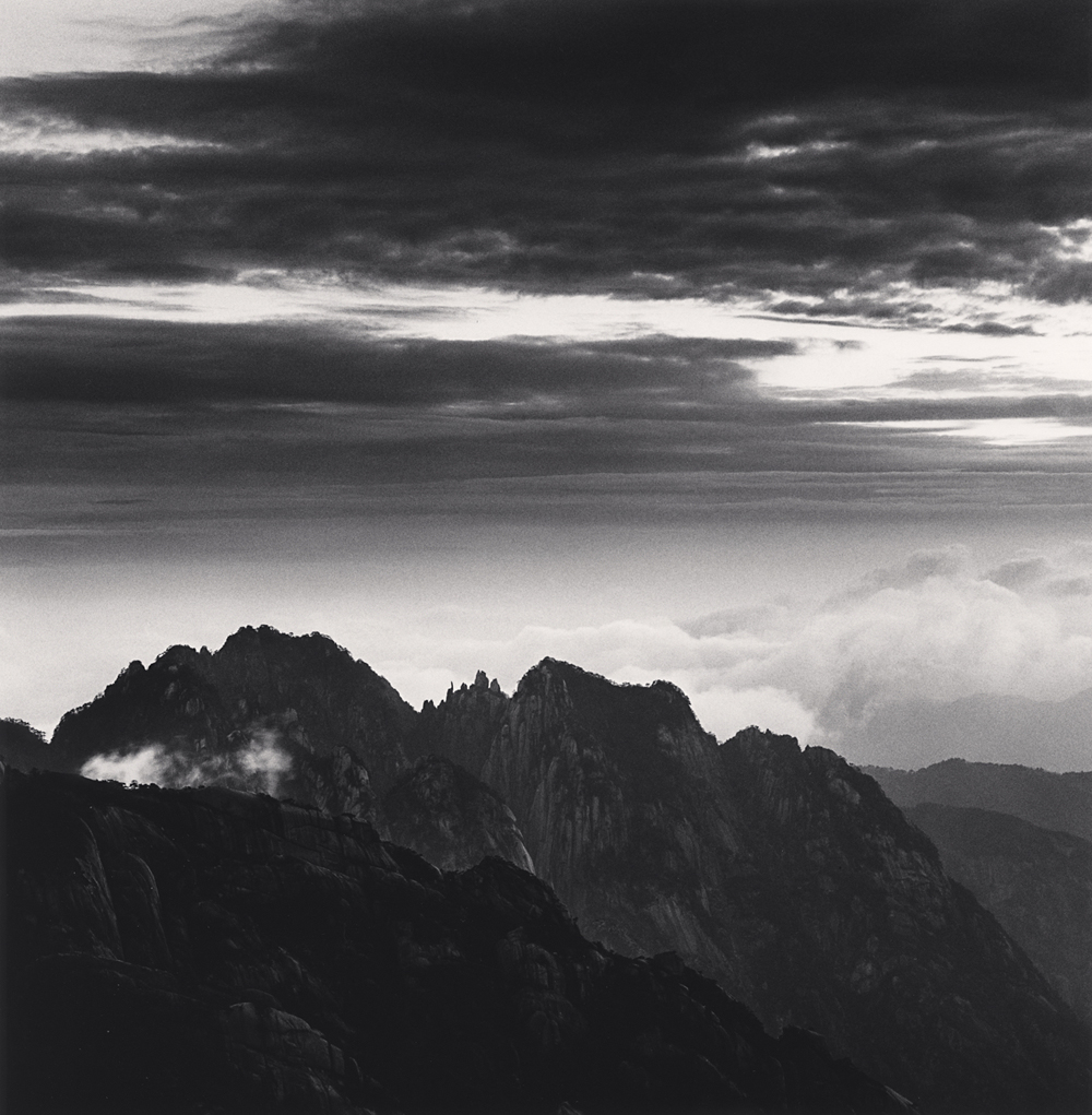 MIchael Kenna, Huangshan Mountains, Study 58, Anhui, China. 2017