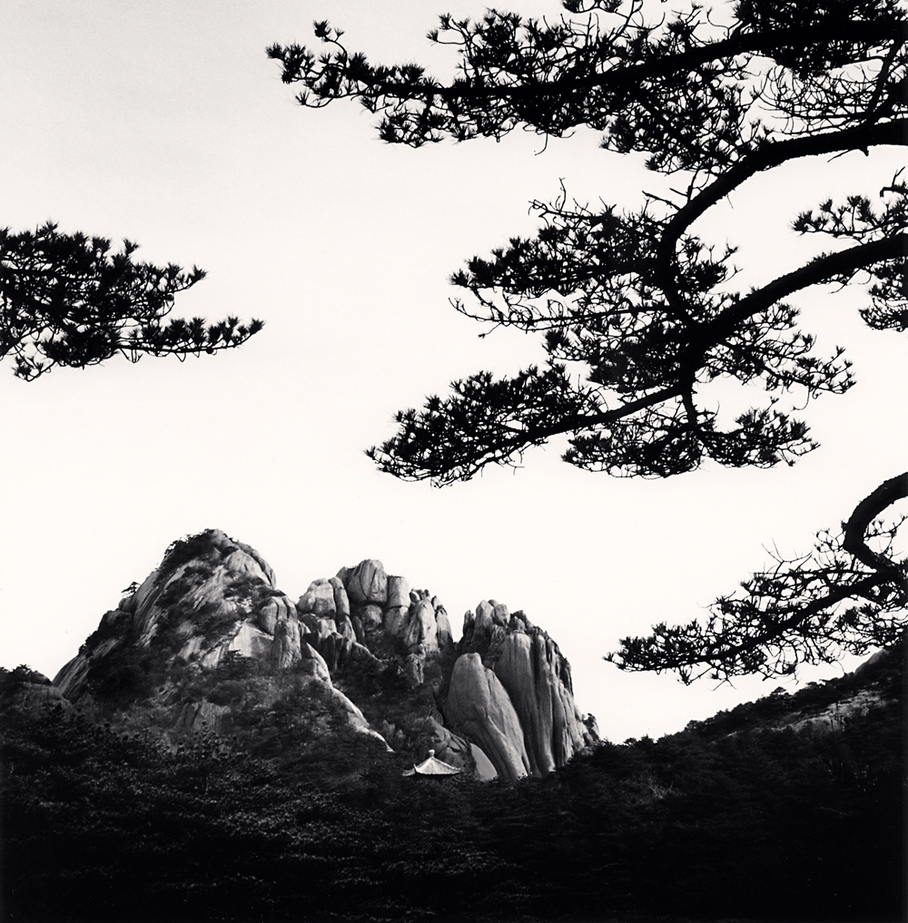 MIchael Kenna, Huangshan Mountains, Study 59, Anhui, China. 2017