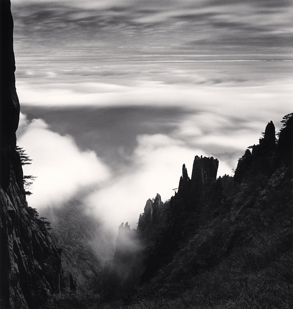 Michael Kenna, Huangshan Mountains, Study 61, Anhui, China. 2017