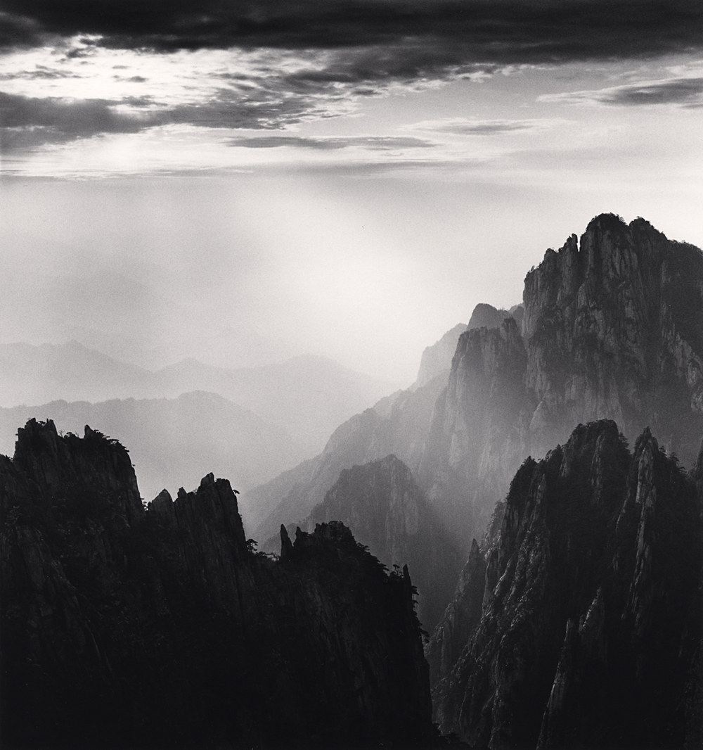 Michael Kenna, Huangshan Mountains, Study 62, Anhui, China. 2017