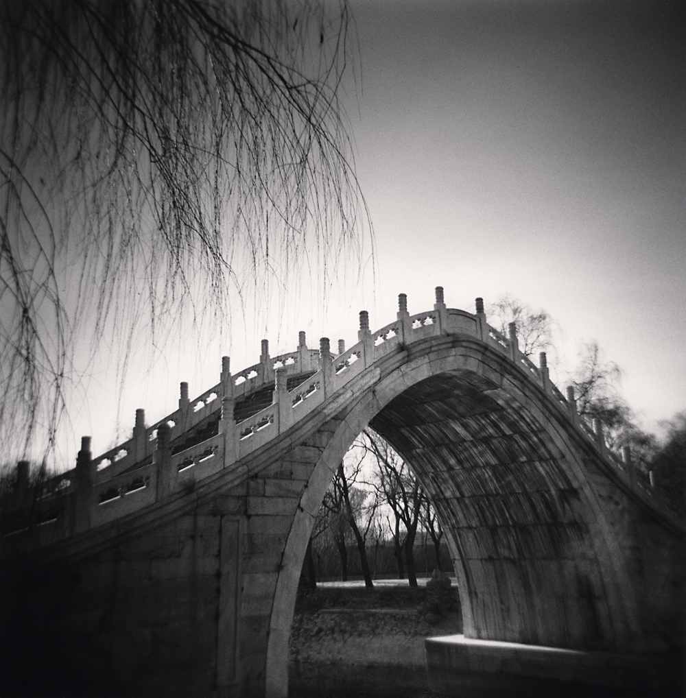 Michael Kenna, Jade Belt Bridge, Study 1, Summer Palace, Beijing, China. 2007