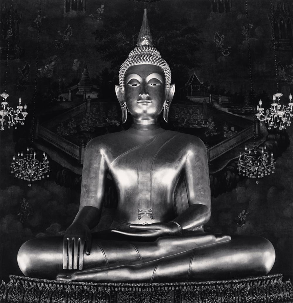 Michael Kenna, Samran Rat Buddha, Bangkok, Thailand, 2018