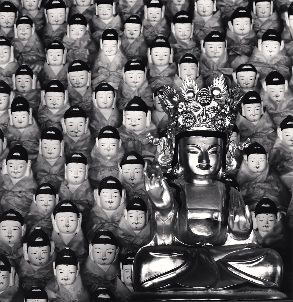 Michael Kenna, Seated Buddha, Geonbongsa Temple, Goseong, Gangwon-do, South Korea, 2013